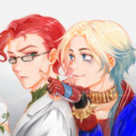 DC Comics - Poison Ivy & Harley Quinn (Genderbend)[DC漫畫人物|毒藤女&小丑女(性轉)]