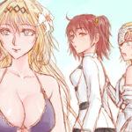 """Distracted Girlfriend"" Granbloue Fantasy & Fate/Grand Order「見異思遷的女友」FBFGO"
