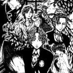 Moonstone: Dracula, Victor Benneley, Hastur & Nyarlathotep (line art)|月光石:德古拉、班納萊、哈斯特與奈亞拉托特普(線稿)