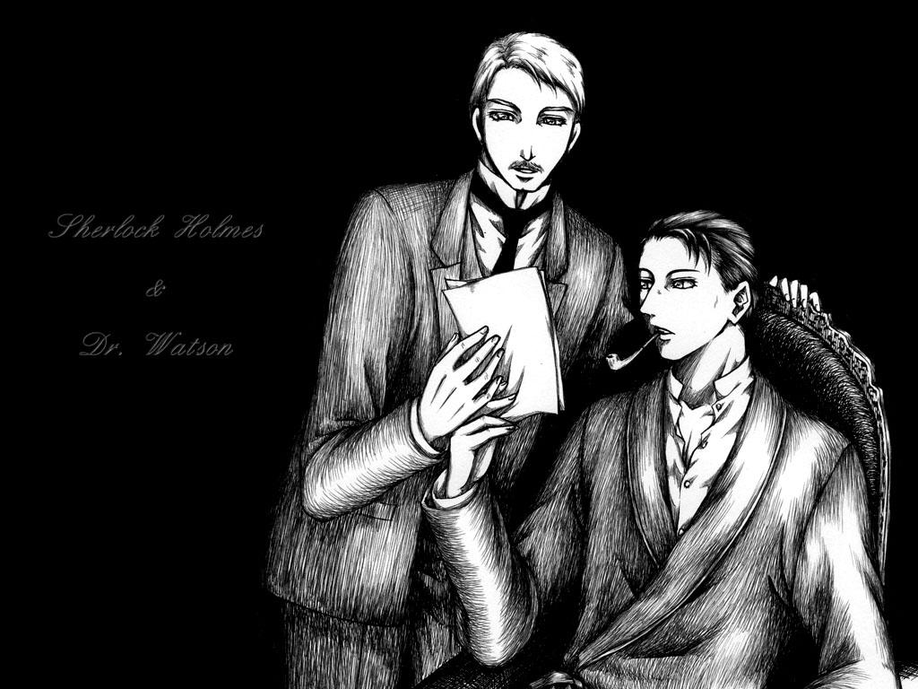 Holmes & Watson|福爾摩斯與華生(1024px)